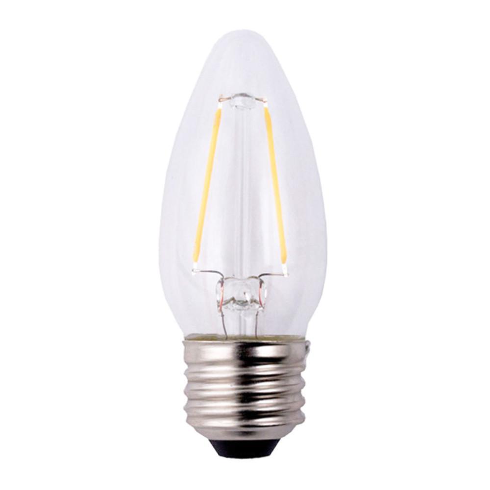 Elegant Lighting 40w Equivalent Soft White E26 Dimmable: EcoSmart 25W Equivalent Soft White B11 Dimmable Filament