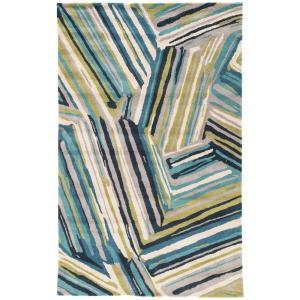 Jaipur Rugs Brittany Blue 2 ft. x 3 ft. Abstract Accent Rug by Jaipur Rugs