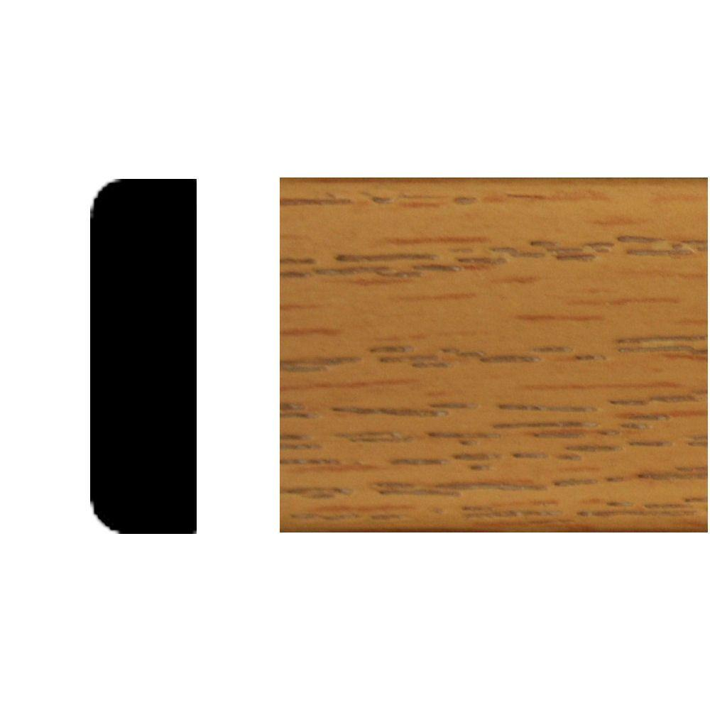 House of Fara 3/8 in. x 1-3/8 in. x 7 ft. Master Finish Oak Col. Stop-DISCONTINUED