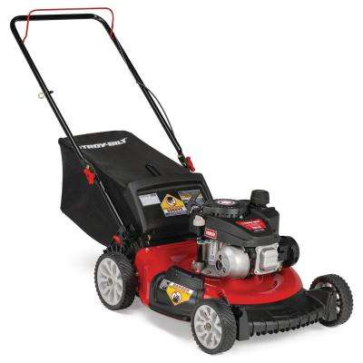 21 in. 140 cc Gas Walk Behind Push Mower with 3-in-1 Cutting TriAction Cutting System