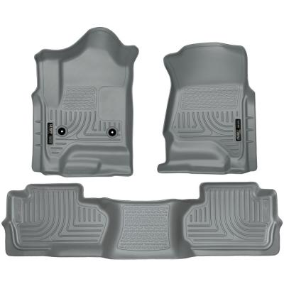 FWD 98303 Husky Liners Front /& 2nd Seat Floor Liners Fits 06-09 Fusion//Milan