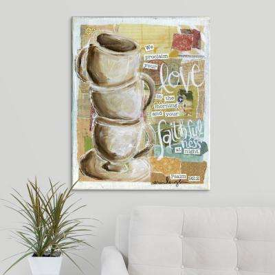 """""""Love and Faithfulness"""" by  Erin Butson Canvas Wall Art"""