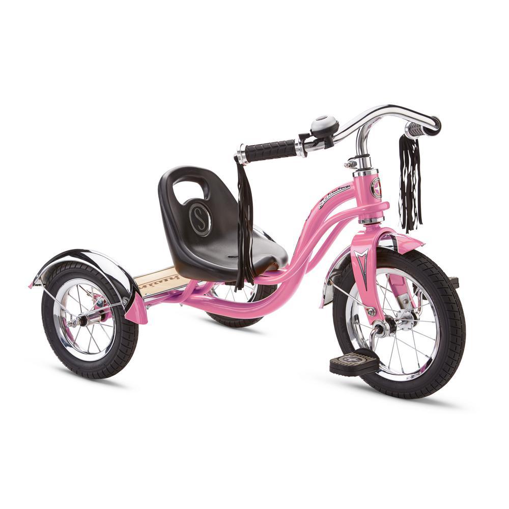 251e72866ce Schwinn 12 in. Trike Pink-S6740 - The Home Depot