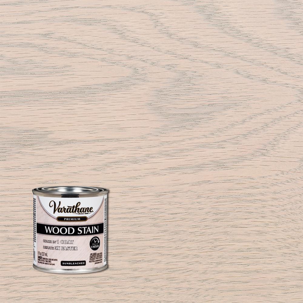 Varathane 8 oz. Sunbleached Premium Fast Dry Interior Wood Stain