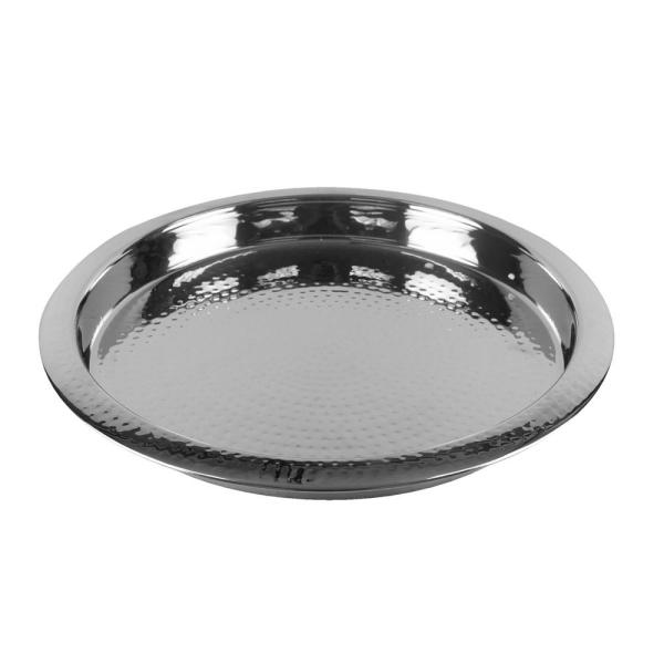 Barcraft Stainless Steel Hammered Tray 5212817