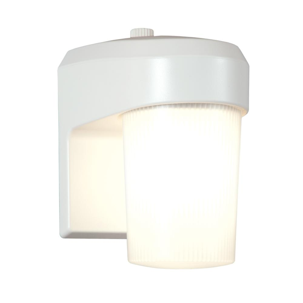 Halo 13 Watt White Outdoor Fluorescent Entry and Patio