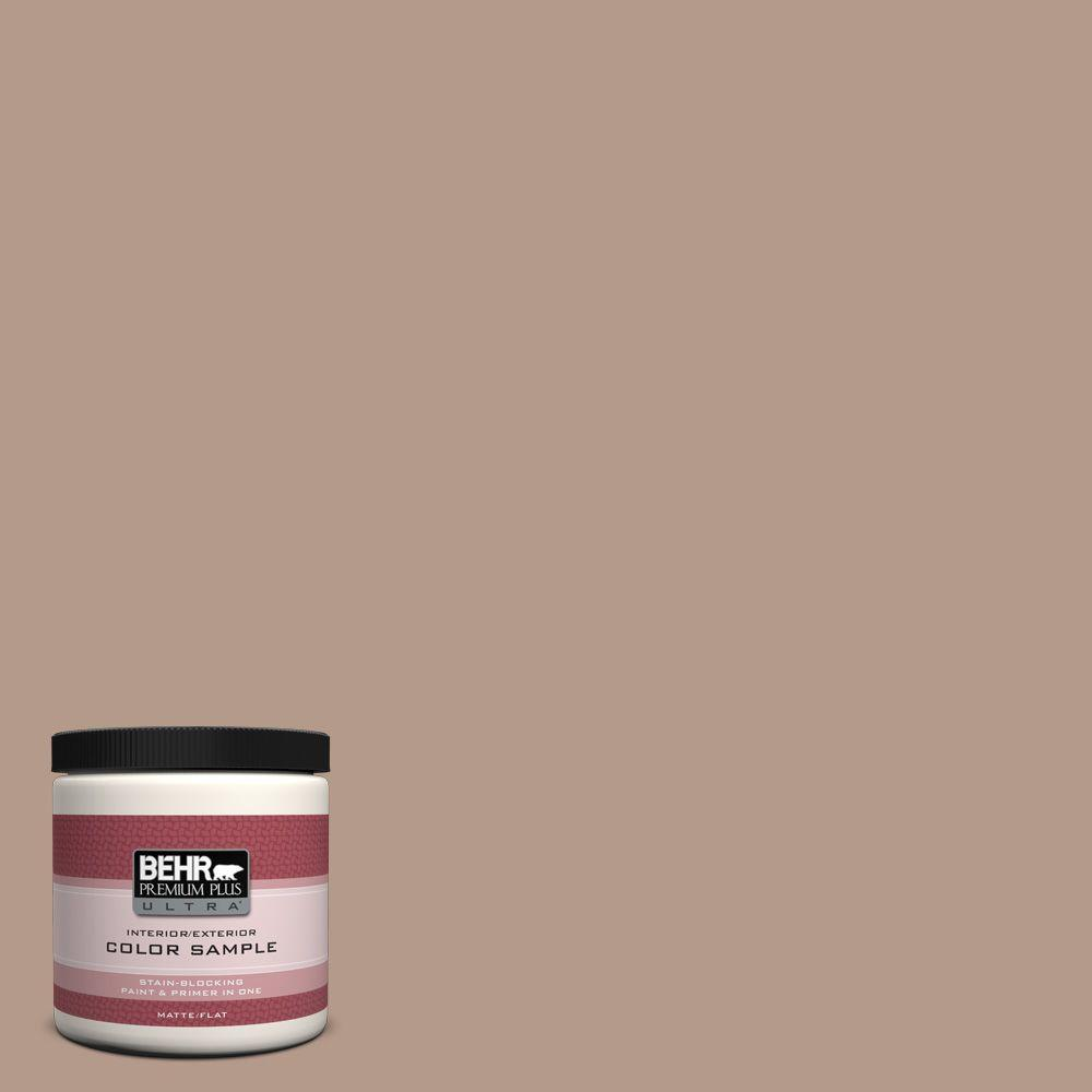 8 oz. #PMD-77 Rich Taupe Interior/Exterior Paint Sample