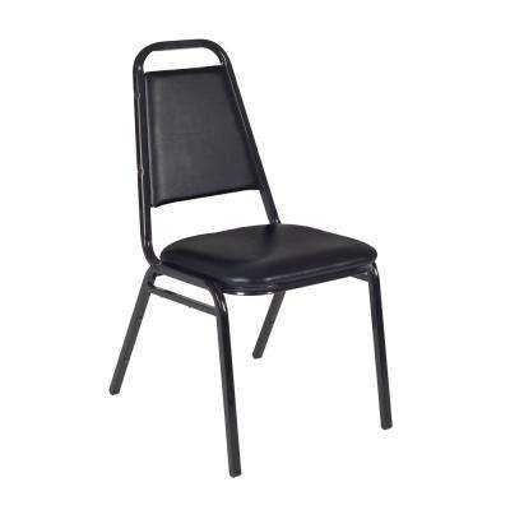 Restaurant Black Stack Chair