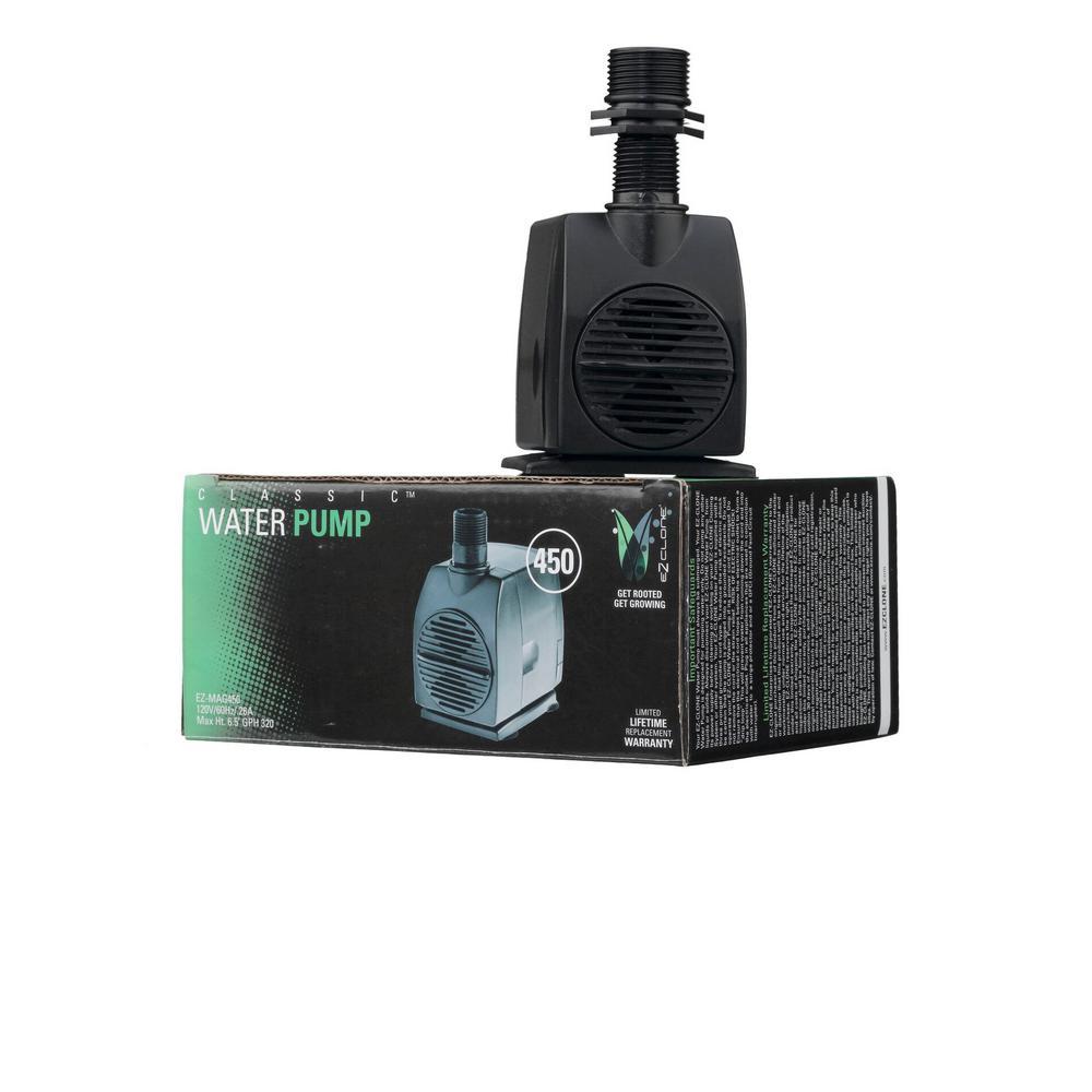 Aeroponic Mag 450 Water Pump (320 GPH)