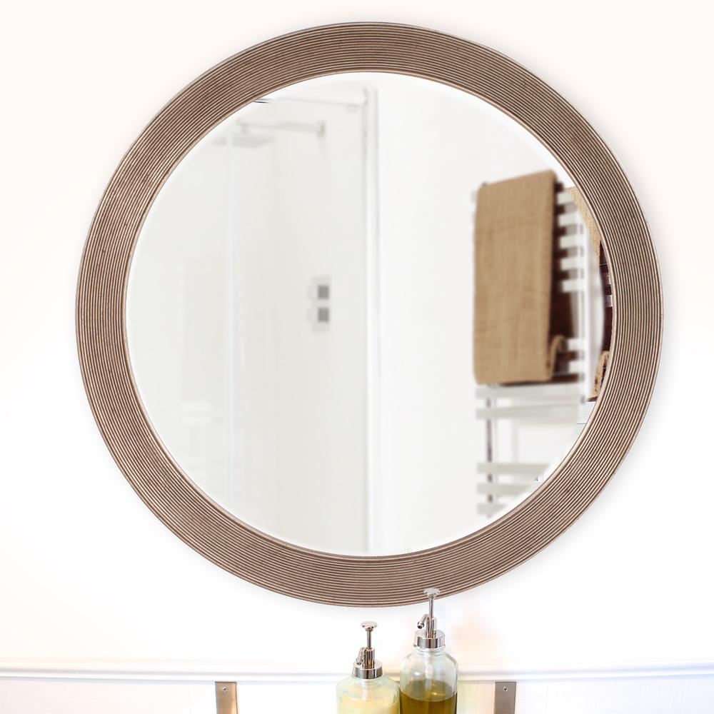 36 in. x 36 in. Virginia Round Mirror