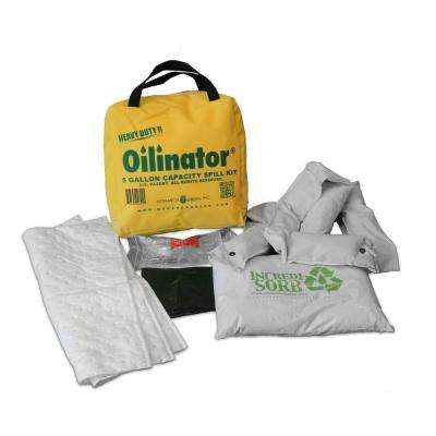5 Gal. Heavy Duty Oil Absorbent Spill Kit