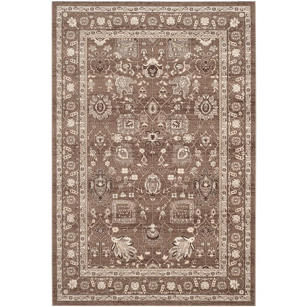 Artisan Brown 4 ft. x 6 ft. Area Rug