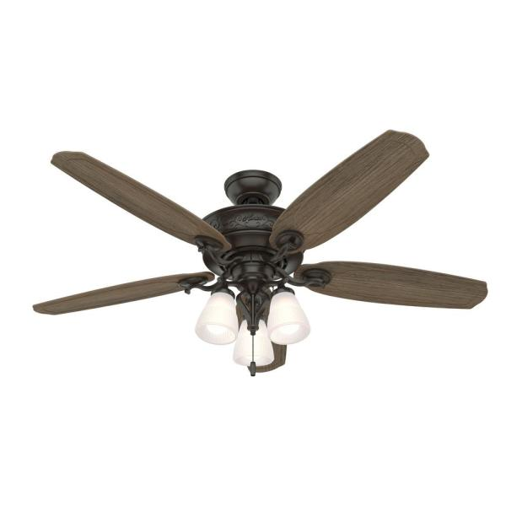Osbourne 54 in. LED Indoor Noble Bronze Ceiling Fan with Light Kit