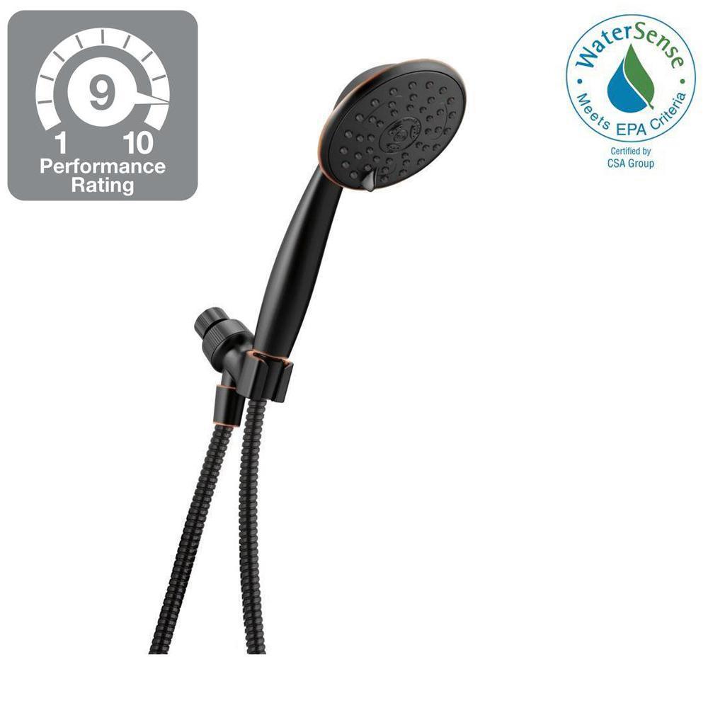 Porter 3-Spray Hand Shower in SpotShield Oil Rubbed Bronze