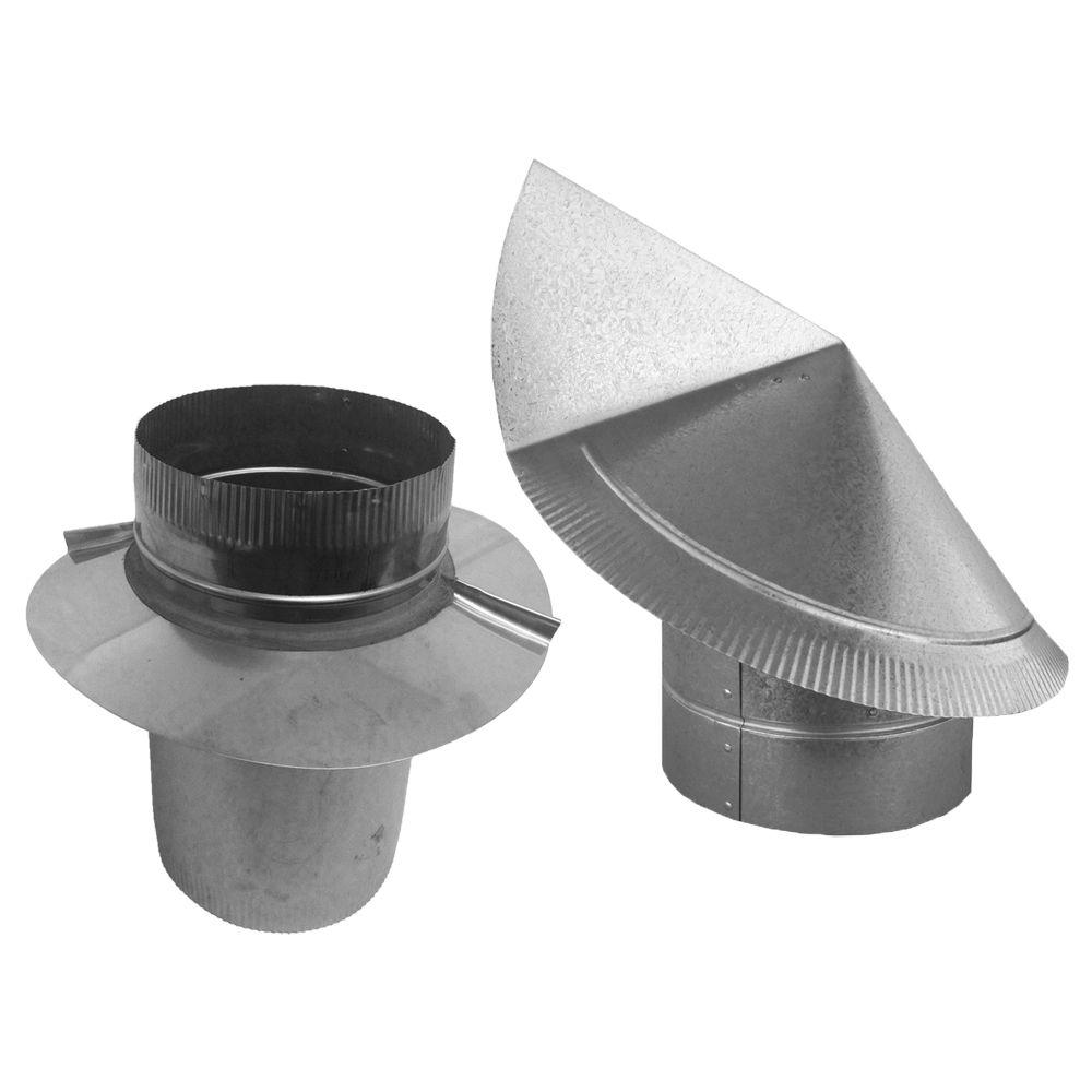 AAI 6 in. Round Wind Directional Chimney Cap
