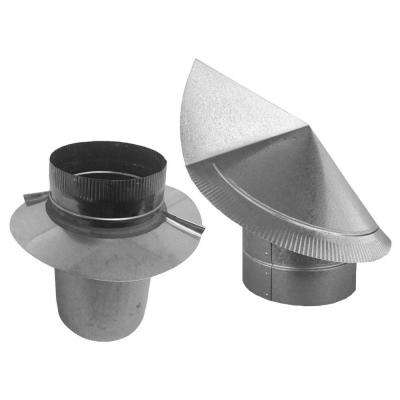 6 in. Round Wind Directional Chimney Cap