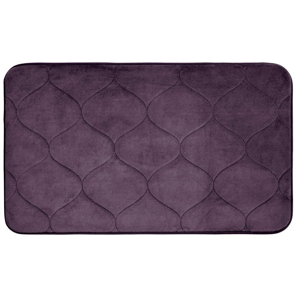 from foam bath mats nottingham beyond home memory buy fleece mat bed rugs chocolate in faux