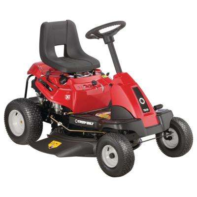 Neighborhood Rider 30 in. 382 cc OHV Engine Manual Drive Gas Rear Engine Riding Mower with 6 speeds and Auto Choke