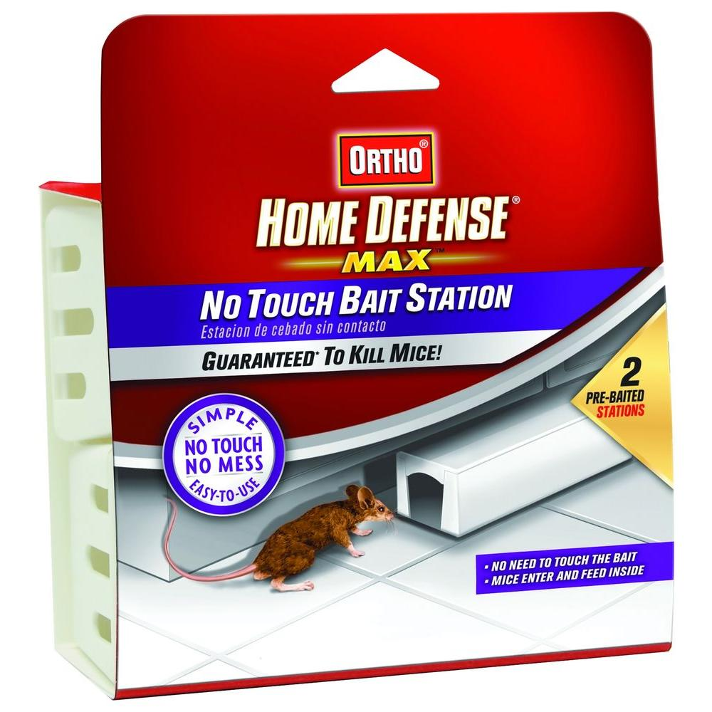 Ortho Home Defense Max No-Touch Bait Station (2-Pack)