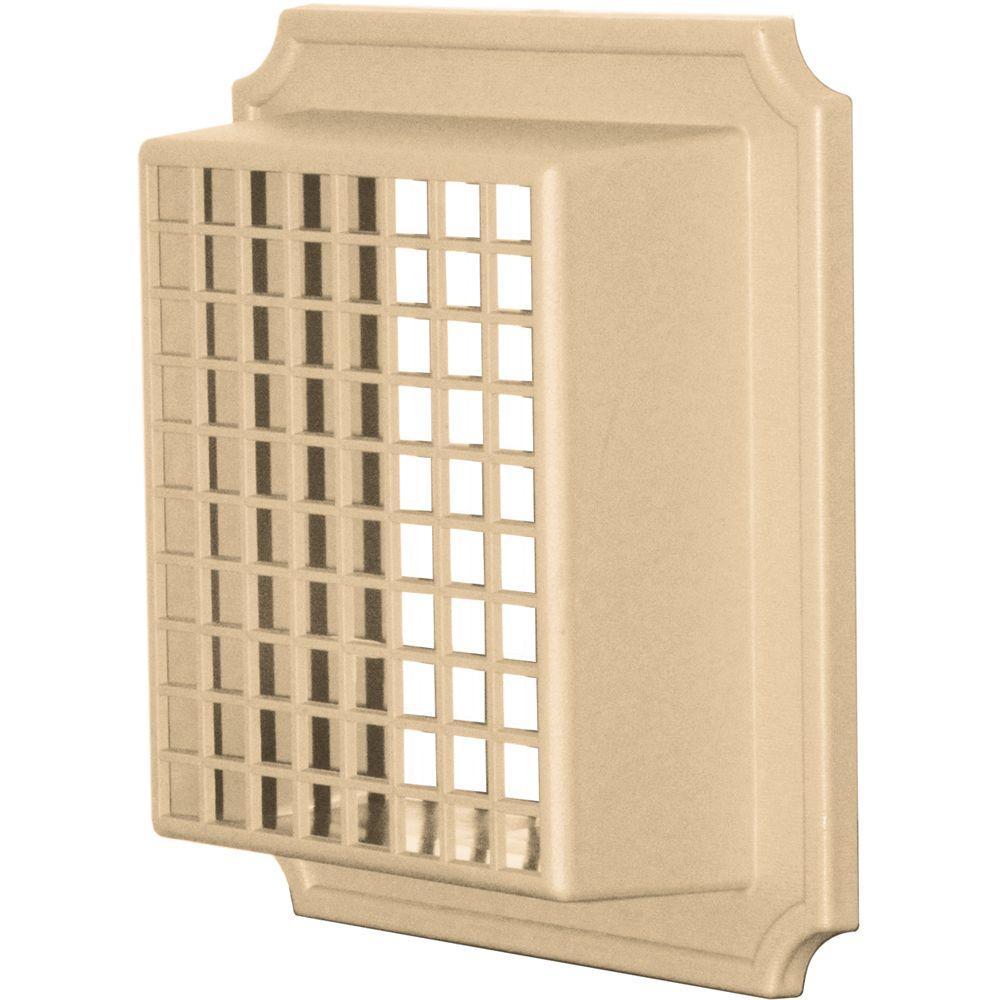 Builders Edge Exhaust Vent Small Animal Guard #045-Sandstone Maple