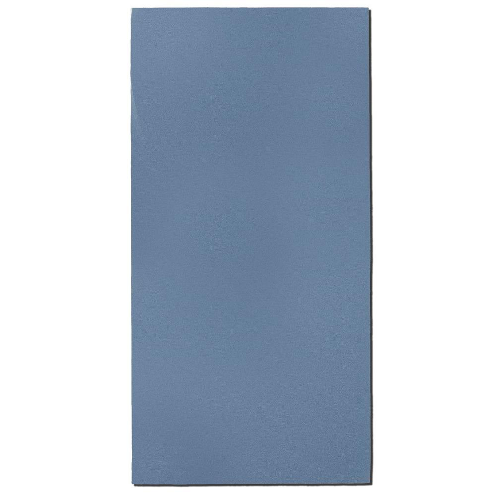 Blue Fabric Rectangle 24 in. x 48 in. Sound Absorbing Acoustic