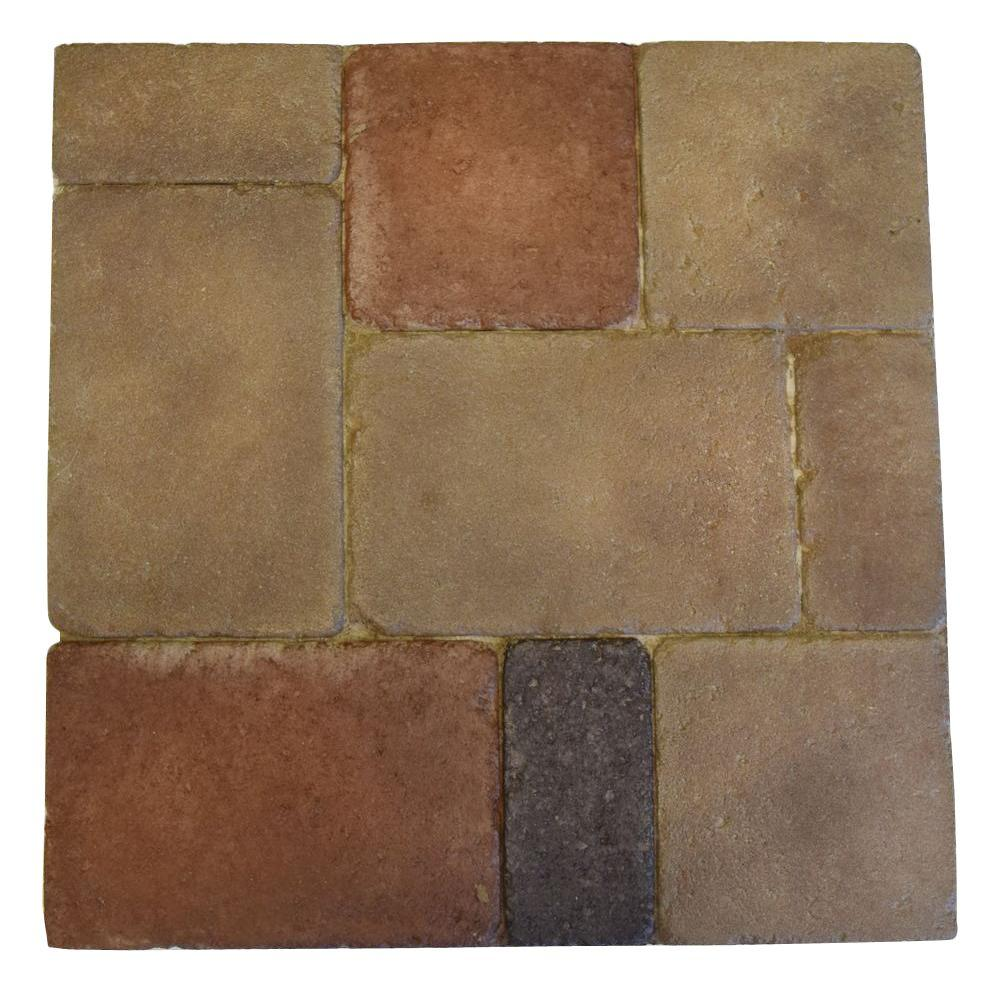 Monterey Naples 18 in. x 18 in. Thin Overlay Paver (4-Pieces
