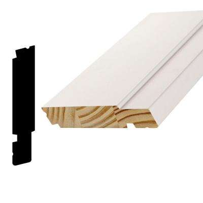 AMC 1500 1-1/4 in. x 6-3/4 in. x 96 in. Pine Primed Finger-Joint Sill Moulding