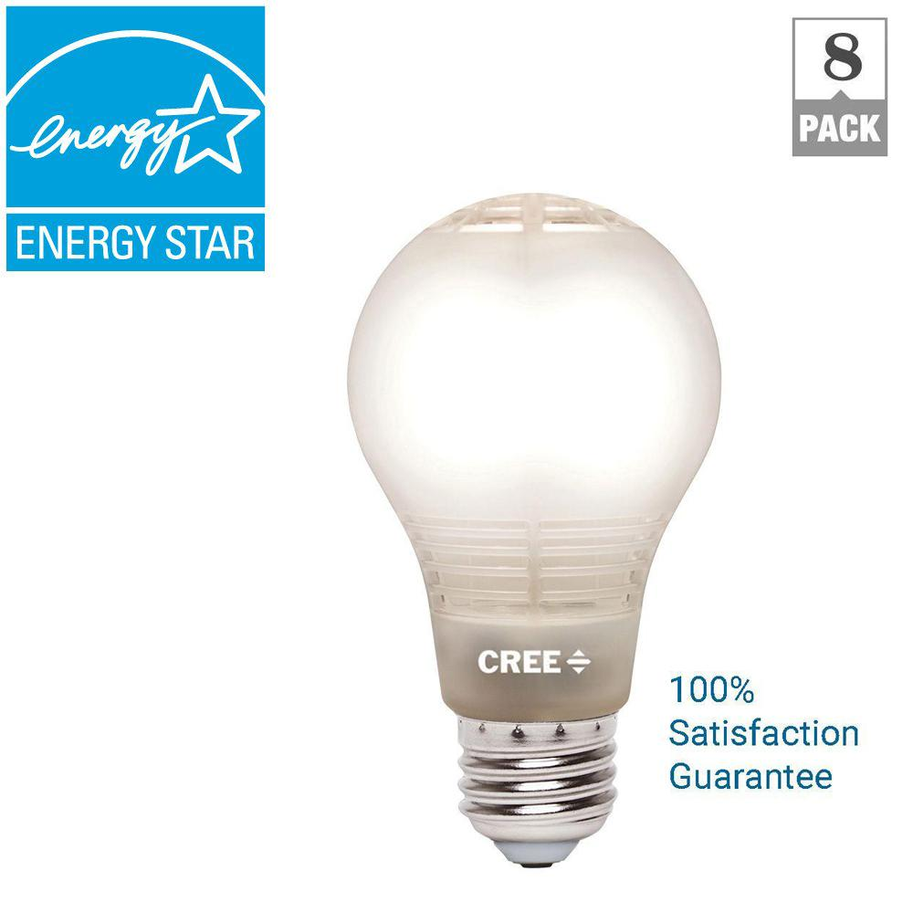 Ecosmart 40w Equivalent Soft White A19 Dimmable Filament: Cree 40W Equivalent Soft White A19 Dimmable LED Light Bulb