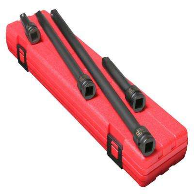 1/2 in. Drive Extension Impact Set (4-Piece)
