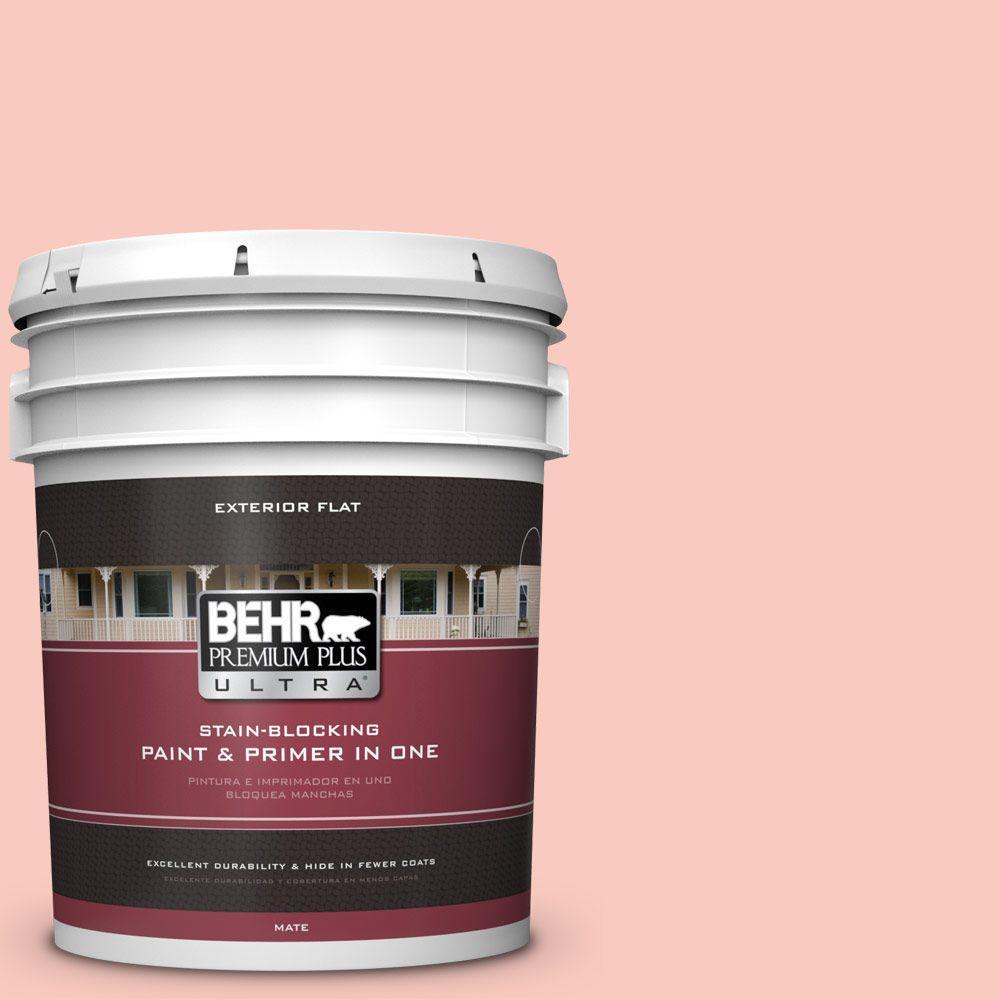 BEHR Premium Plus Ultra 5-gal. #200C-3 Spring Song Flat Exterior Paint