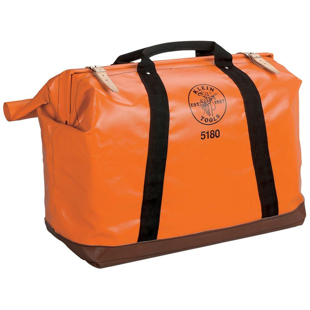 Klein Tools 10 In Extra Large Nylon Equipment Tool Bag 5180 The Home Depot