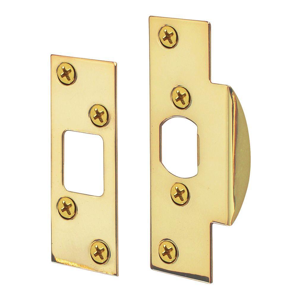 Defiant Bright Brass Door Security Guard-70592 - The Home ...