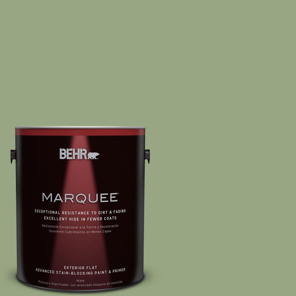 BEHR MARQUEE 1-gal. #M380-5 Hillside Grove Flat Exterior Paint