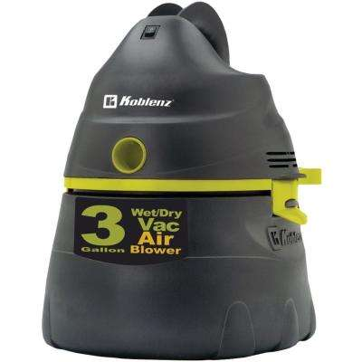 3 gal. All-Purpose Power Wet/Dry Vac with Tank