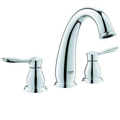 Parkfield 8-3/16 in. 3-Hole Roman Tub Filler in StarLight Chrome