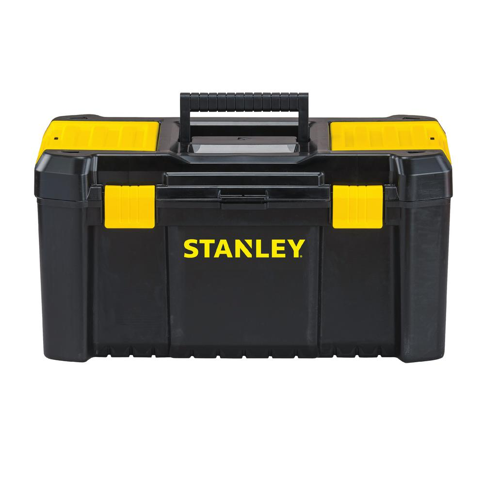 Stanley 19 in. 4.2 Gallon Essential Tool Box with Lid Organizers
