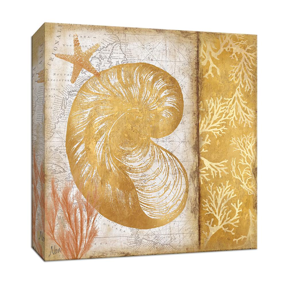 PTM Images 15 in. x 15 in.   Beach Bling I   By Canvas Wall Art-9 ... 8ebeb467594d