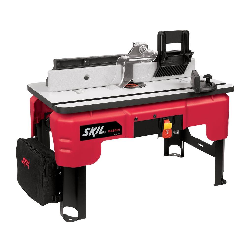 Skil router table with folding leg design ras800 the home depot skil router table with folding leg design greentooth Image collections