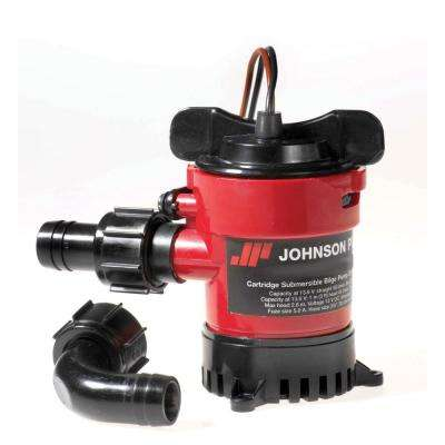 24-Volt 1000 GPH Cartridge Bilge Pump