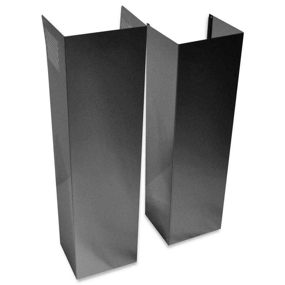 Island Hood Chimney Extension Kit in Stainless Steel