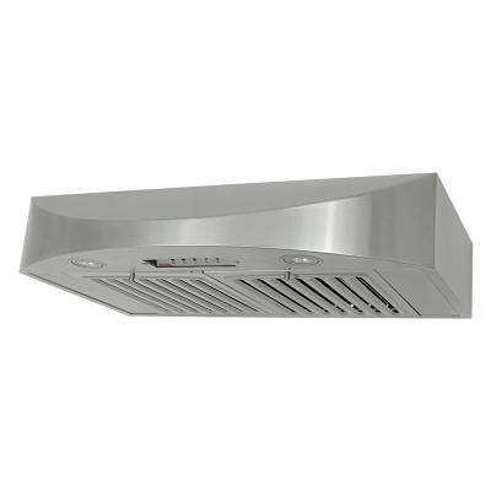 30 in. 650 CFM Under Cabinet Range Hood in Stainless Steel