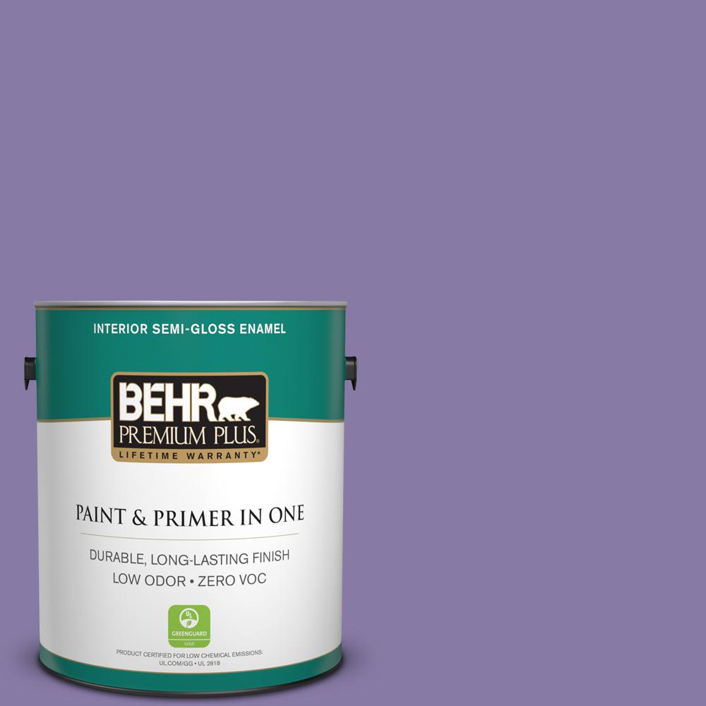 BEHR Premium Plus 1-gal. #M560-5 Second Pour Semi-Gloss Enamel Interior Paint