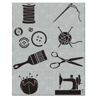 Craft Stencil (8-Pack)