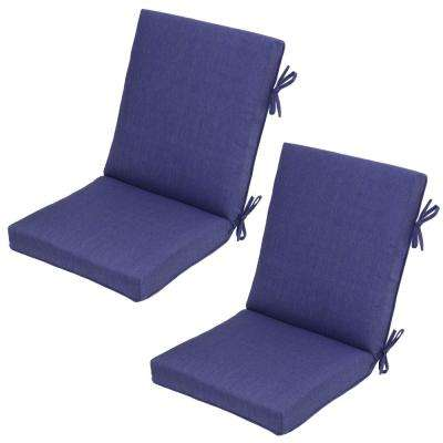 Sky Outdoor Dining Chair Cushion (2-Pack)