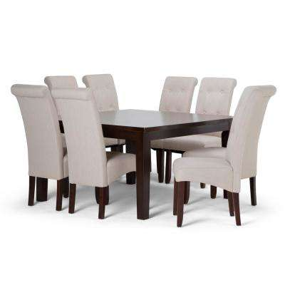 Cosmopolitan 9 Piece Natural Dining Set