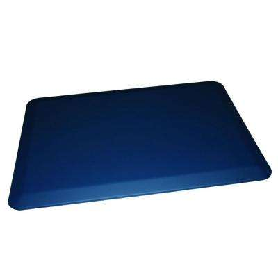 Comfort Craft Triathalon Lagoon 24 in. x 48 in. Poly-Urethane Anti-Fatigue Kitchen Mat