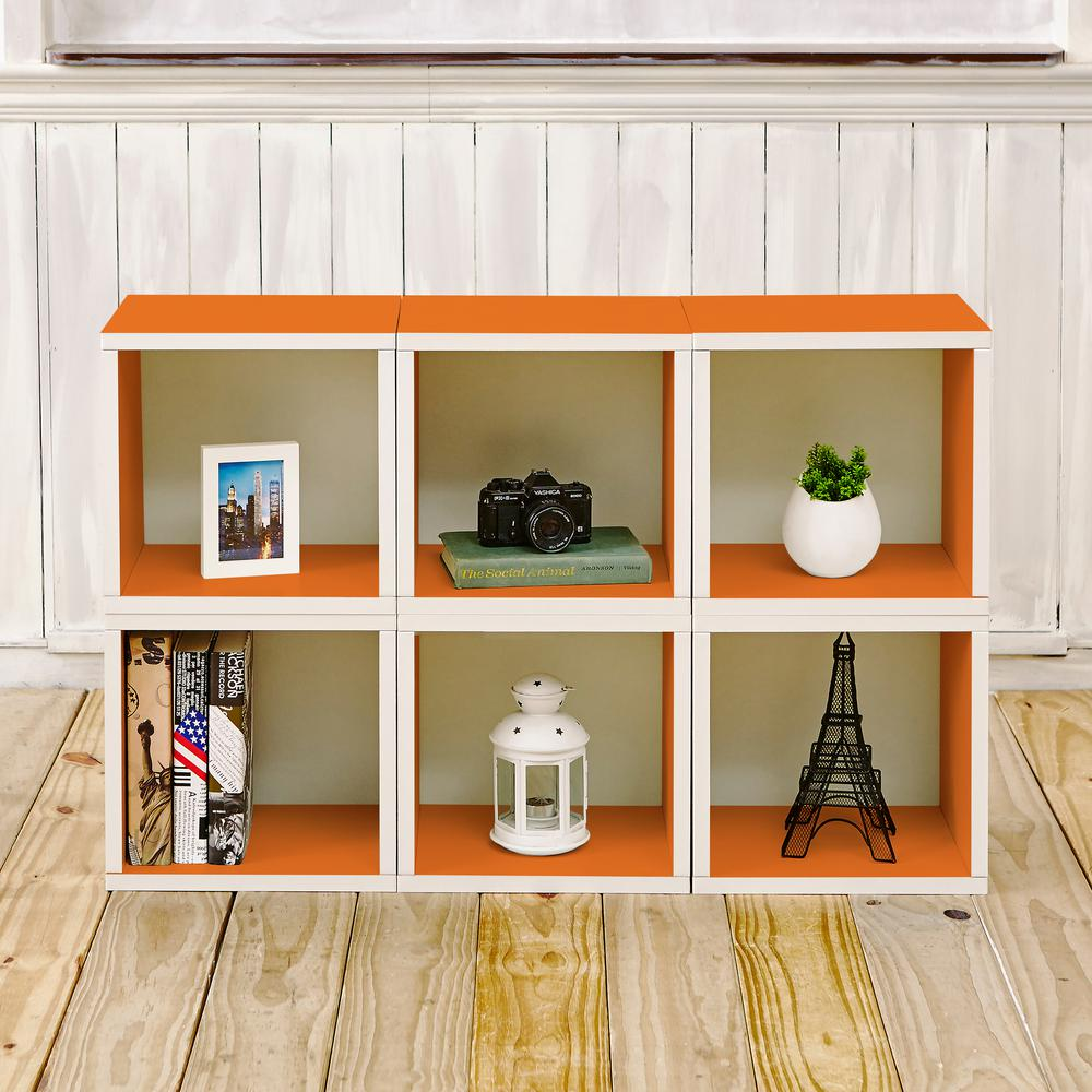 Way Basics Barcelona 6 Cubes Zboard Stackable Modular Storage Cubby Organizer Tool Free