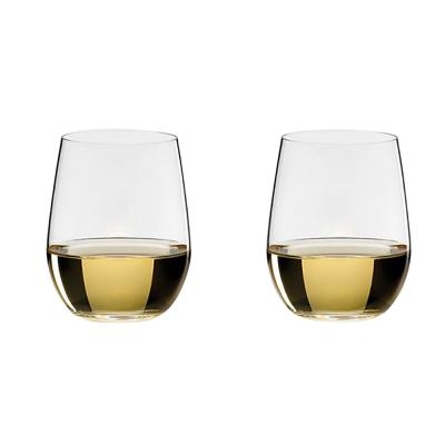 b219fc1b9e0 Riedel O Series 11.25 oz. Stemless Crystal Viognier and Chardonnay Wine  Glass 2-Pack 0414/05 - The Home Depot