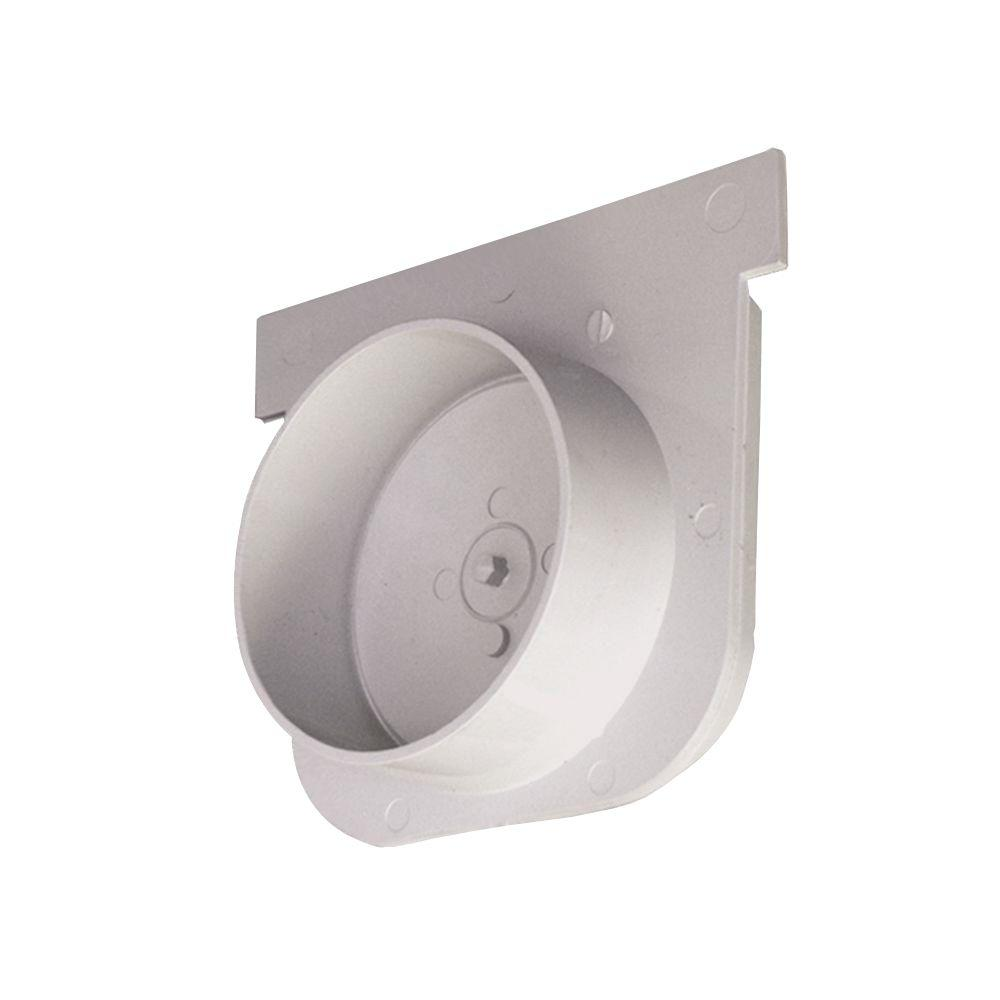 5 in. PVC End Cap Outlet