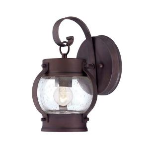 Acclaim Lighting Boulder Collection 1-Light Outdoor Architectural Bronze Wall-Mount Light Fixture by Acclaim Lighting